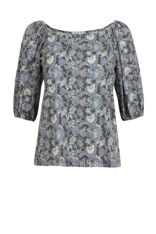 Camiseta new Beatriz floral inglês