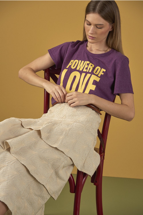 CAMISETA POWER OF LOVE